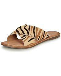 Kickers Diaz-2 Mules / Casual Shoes - Natural