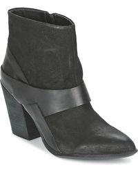 ALDO Kyna Low Ankle Boots - Black