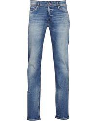 Teddy Smith Reeple Rock Skinny Jeans - Blue