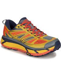 7df11fa1ab039 Yellow And Orange Mafate Speed Trainers