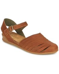 El Naturalista Stella Women's Sandals In Brown