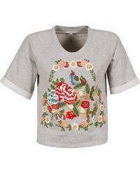 Manoush Gipsy T Shirt - Grey