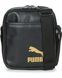 PUMA Originals Portable Retro Pouch - Black