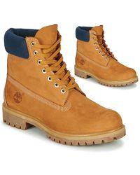 "Timberland 6"" Premium Boot Mid Boots - Yellow"