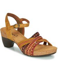 Think! Traudi Sandals - Brown
