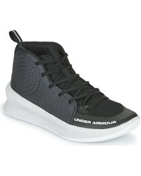Under Armour Jet Adulte Basketball Trainers (shoes) - Black