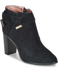 Ted Baker Anaedi Low Ankle Boots - Black