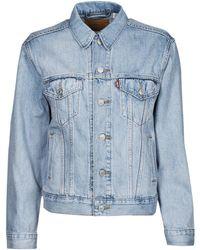 Levi's Levis Ex Boyfriend Trucker Denim Jacket - Blue