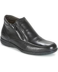 Fluchos Luca Mid Boots - Black