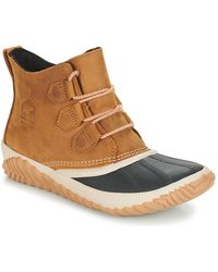 Sorel Out N About Plus Women's Snow Boots In Brown