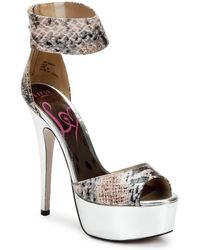 Lipsy Keisha Sandals - Multicolour