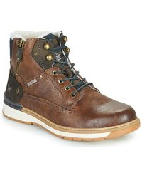 Mustang 4141603 Mid Boots - Brown
