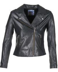 Betty London Igadite Leather Jacket - Black