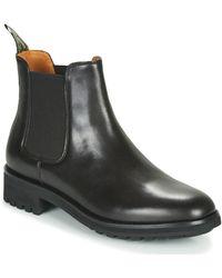 Polo Ralph Lauren Asher Chlsea Men's Mid Boots In Black
