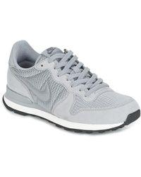 2a371e884936 Nike Flex Adapt Trainer W Trainers in Gray - Lyst