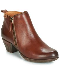 Pikolinos Rotterdam 902 Low Ankle Boots - Brown