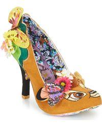 Irregular Choice Hyah - Bambi Heels - Brown