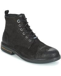 Pepe Jeans Hubert Mid Boots - Black