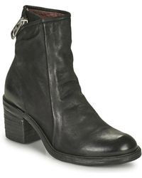 A.s.98 Jamal Low Low Ankle Boots - Black