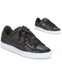 PUMA - Wn Suede Heart Leather.bla Shoes (trainers) - Lyst