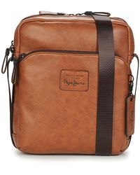Pepe Jeans Vegan Pouch - Brown