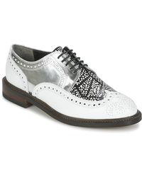 Robert Clergerie Roelk Women's Casual Shoes In White