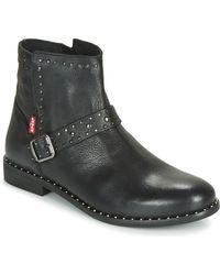 Levi's Tenexy Mid Boots - Black