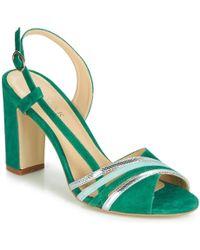 Jonak - Vetna Women's Sandals In Green - Lyst