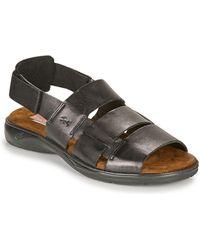 Fluchos 1200-surf-negro Sandals - Black
