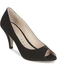 Petite Mendigote Reunion Court Shoes - Black