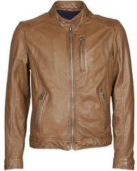 Oakwood Keren Leather Jacket - Brown