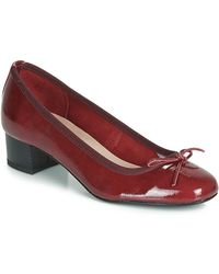 André Poeme Court Shoes - Red