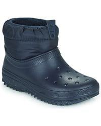 Crocs™ Classic Neo Puff Shorty Boot W Snow Boots - Blue