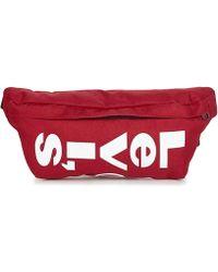Levi's Mega Logo Belt Bag - Red