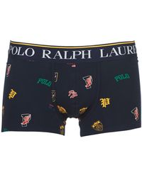 Polo Ralph Lauren Print Trunk-single-trunk Boxer Shorts - Blue