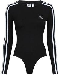 adidas Body Suit Leotards - Black