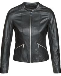 Oakwood Keren Leather Jacket - Black