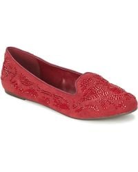 Moony Mood Ludia Loafers / Casual Shoes - Red