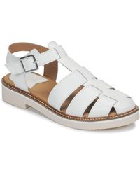 Kickers Euxipi Sandals - White