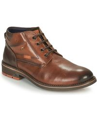 Fluchos Terry Mid Boots - Brown