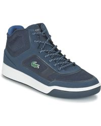 9fbdb3966a9fa0 Lacoste Explorateur Clas Men s Shoes (high-top Trainers) In Grey in ...