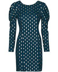 Naf Naf Hermione R1 Dress - Blue