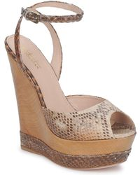 Sebastian S5203 Women's Sandals In Brown