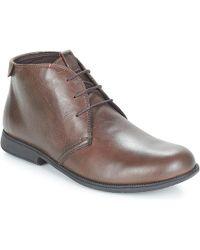 Camper 1913 Men's Casual Shoes In Brown