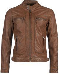 Oakwood Casey Leather Jacket - Brown