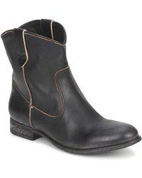 NDC San Manuel Camarra Slavato Mid Boots - Black