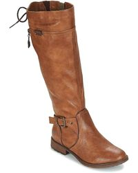 Mustang Abequa High Boots - Brown