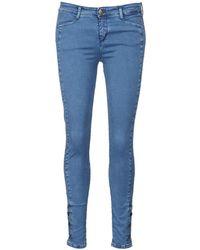 Acquaverde Alfie Skinny Jeans - Blue