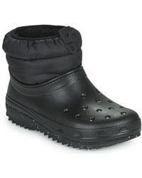 Crocs™ Classic Neo Puff Shorty Boot W Snow Boots - Black