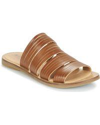 El Naturalista Tulip Mules / Casual Shoes - Brown